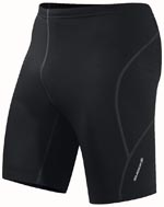 close fit running shorts