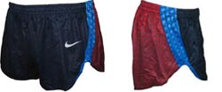 split running shorts